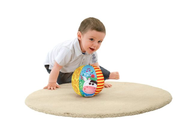 Chicco Musical Ball Toy - Multicolor-25665