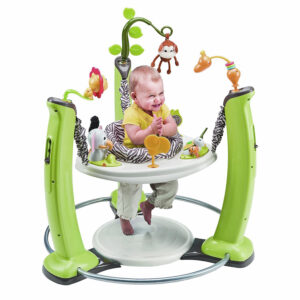 Evenflo Exersaucer Jump and Learn Jumper, Jungle Quest-0