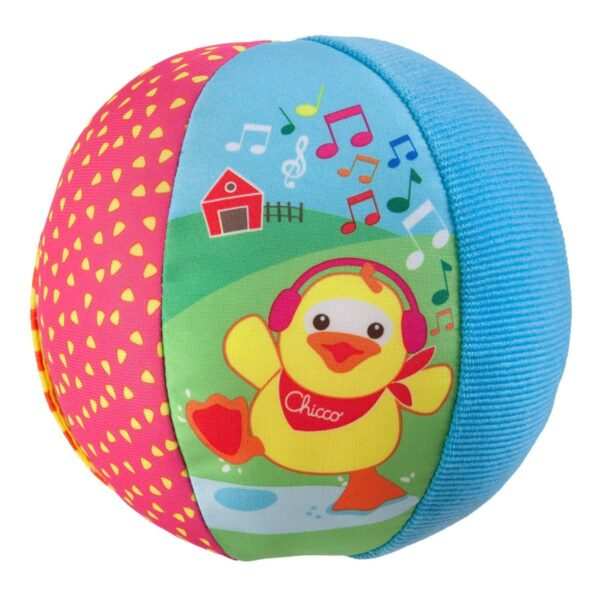 Chicco Musical Ball Toy - Multicolor-25668