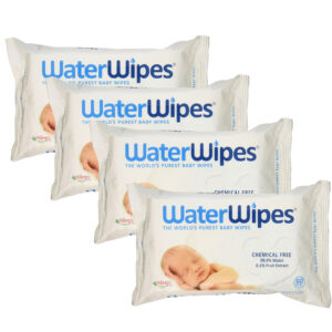 WaterWipes Baby Wipes - 60 Count (Pack of 4)-0