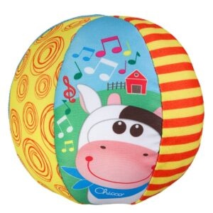 Chicco Musical Ball Toy - Multicolor-0