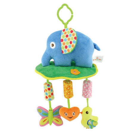 Animal Campanula Wind Chimes for Cart Bed, Musical Hanging Toy - Multicolor-0