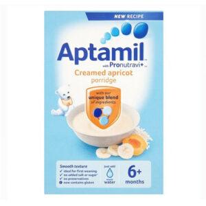 Aptamil Creamed Apricot Porridge (6M+) - 125g-0