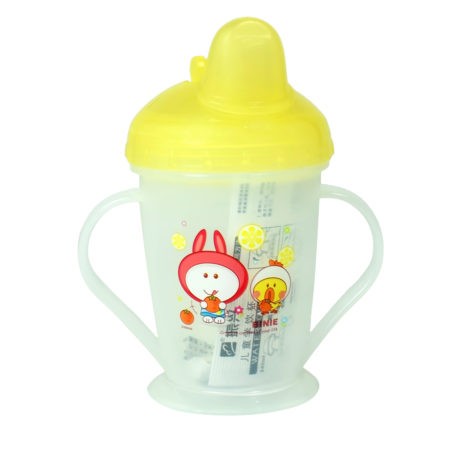 Binie Soft Spout Cup With Handle, 150ml - Yellow-0