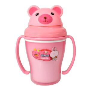 Binie Straw Cup, Sipper (150ml) - Pink-0