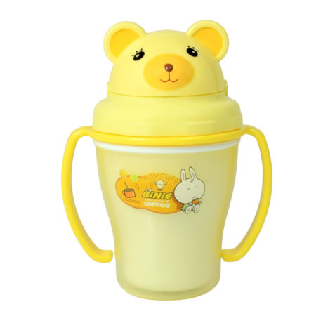Binie Straw Cup, Sipper (150ml) - Yellow-0