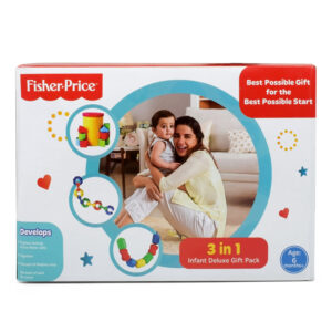 Fisher Price 3-in-1 Infant Deluxe Gift Pack - 6M+-0