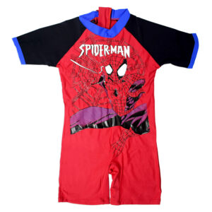 Spider-Man Style Baby Costume Suit - Red-0