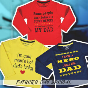Baby Onli Funny slogan t shirts pack of 3 ( 6 to 24Months)-0