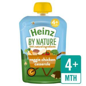 Heinz By Nature Veggie Chicken Casserole 4mth+ (100g) -0