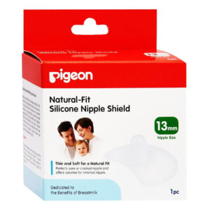 Pigeon Silicone Nipple Shield 13mm - 2 Pcs-0