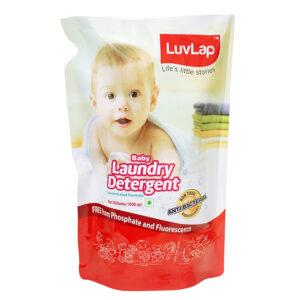 LuvLap Baby Laundry Liquid Detergent Refill Pack - 1L-0
