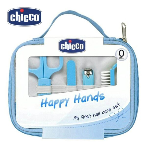 Chicco Happy Hands My First Nail Care Set - 9 Pieces-26482