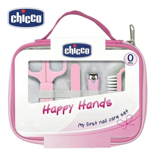 Chicco Happy Hands My First Nail Care Set - 9 Pieces-0