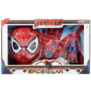 Spider-Man Mask & Accessories - Red-0