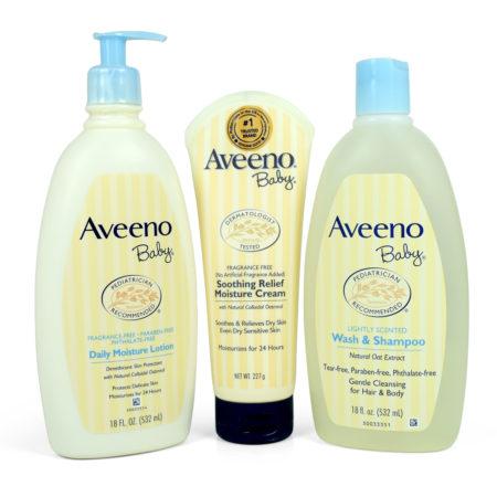 Aveeno Essential Baby Bathing Pack of 3-0