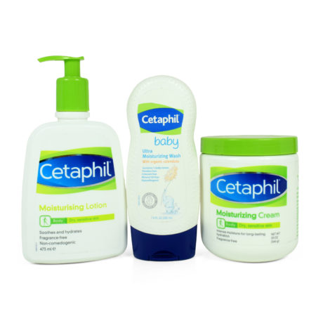 Cetaphil Body Moisturizing Collection, Pack of 3-0