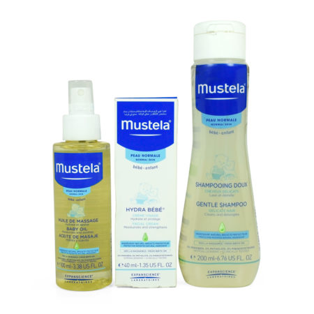Mustela Essential Baby Skin Care Set of 3-0