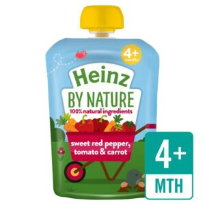 Heinz by Nature Sweet Red Pepper, Tomato & Carrot - 100 gm-0