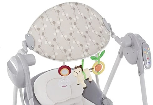 Chicco polly swing up ( Silver)-26634