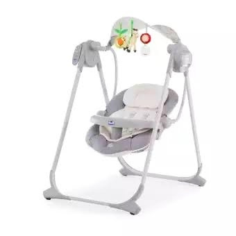 Chicco polly swing up ( Silver)-26633