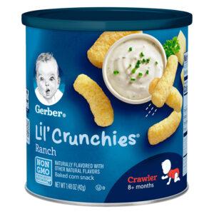 Gerber Graduates Lil' Crunchies, Ranch - 42 gm-0