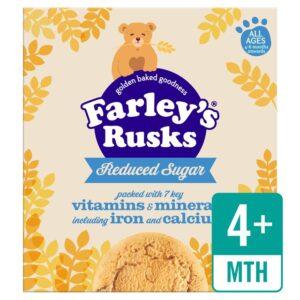 Heinz Farley's Rusks Reduced sugar 4-6 months onwards-0