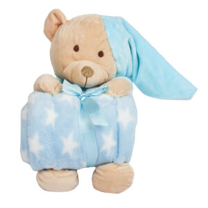 Soft plush toy with Blanket -0