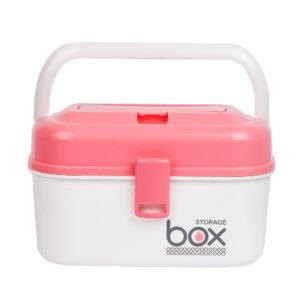 Multi Purpose Storage Box- Pink-0