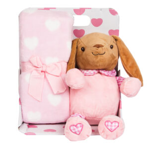 Soft Toy with blanket giftset-0