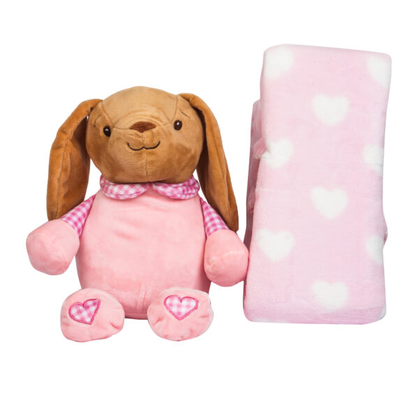 Soft Toy with blanket giftset-26766