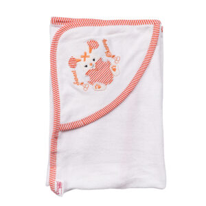 Popees hooded towel rabbit -0