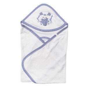POPEES HOODED RABBIT TOWEL-0