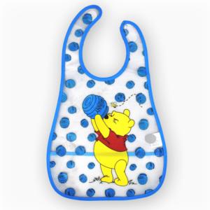 Baby Non-Spill Plastic Bib - Pooh-0