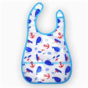 Baby Non-Spill Plastic Bib-0