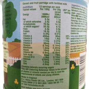 Heinz First Steps Creamy Oat and Apple Porridge (4M+) - 240gm-27059