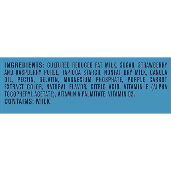 Gerber Yogurt Blends Snack Mixed Berry 4-99gm Cups-27368