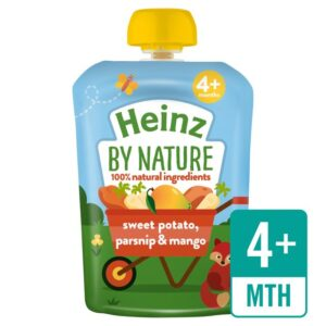 Heinz by Nature Puree Sweet Potato, Parsnip & Mango - 100g -0