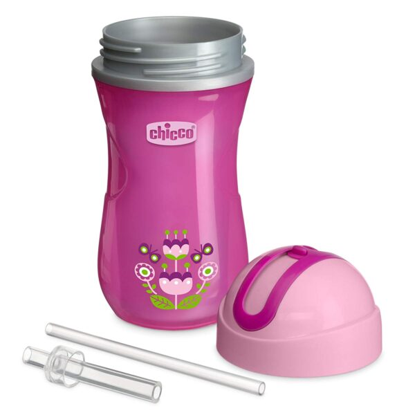 Chicco Sport Cup, Insulated Cup (14m+) - Pink-27420