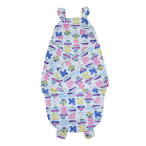 Penguin Style Baby Soft Swaddle Assorted Print - Blue-0