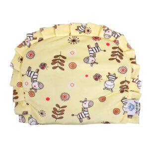 Baby Rai Pillow for Perfect Head Shape, Mustard Pillow - Yellow-0