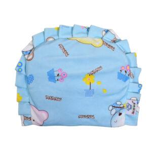 Baby Rai Pillow for Perfect Head Shape, Mustard Pillow - Sky Blue-0