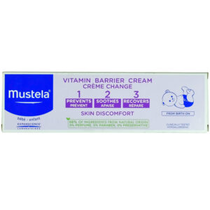 Mustela 1 2 3 Vitamin Barrier Cream - 100ml-0