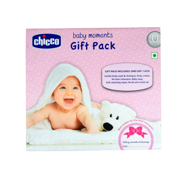 Chicco Baby Mooments Gift Pack for New Born Baby-0