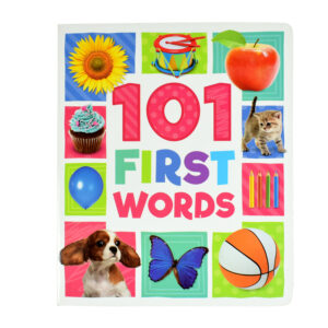 101 First Words, Learning Book with Colorful Photographs-0