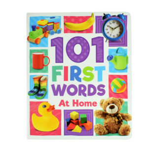 101 First Words At Home, Learning Book-0