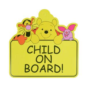 "Baby Caution Car Sticker ""Child on Board""-0"