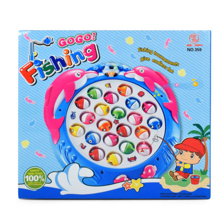 Gogo Fishing with Light & Music - Multicolor-0