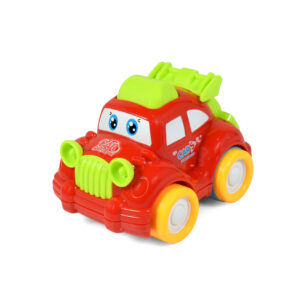 Funny Musical Friction Car - Red/Green-0