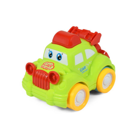 Funny Musical Friction Car - Green/Red-0